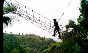 PAKET OUTBOUND 1 HARI PUNCAK EAGLE HILL CAMP